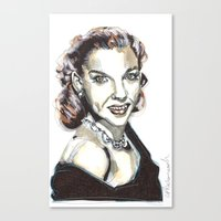 JUDY GARLAND Canvas Print