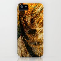 iPhone Cases featuring nature woman by Lo Coco Agostino