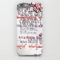 Calligraphic Poster IV iPhone 6 Slim Case
