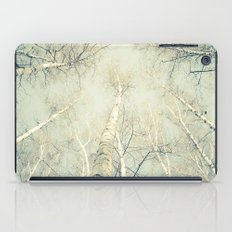 birch trees 1 iPad Case