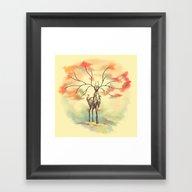 Essence Of Nature - A De… Framed Art Print