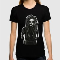 Rob Zombie Womens Fitted Tee Black SMALL