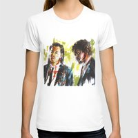 pulp fiction T-shirts featuring Pulp Fiction by Miquel Cazanya