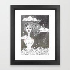 Meermaid Framed Art Print