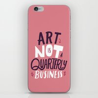 Art is Not... iPhone & iPod Skin