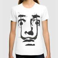 I Am Drugs ( Salvador Da… Womens Fitted Tee White SMALL