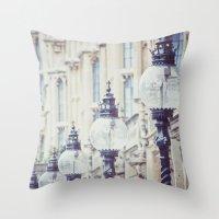 Lanterns Of Wisdom Throw Pillow