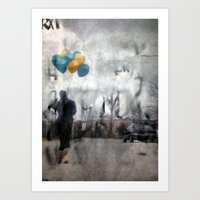 I Walk Alone Art Print