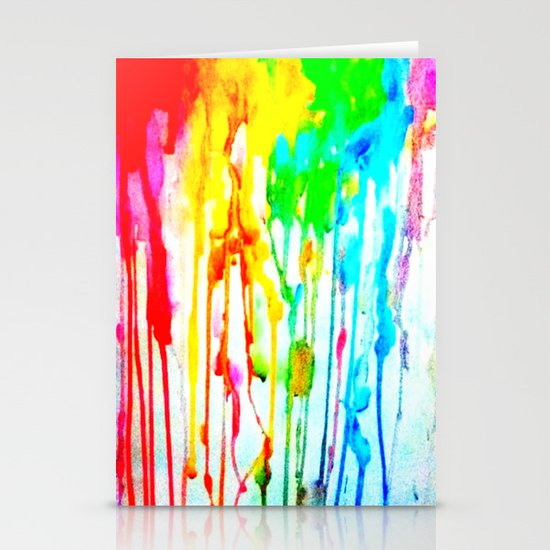 Colors of life : Colors Series 3 Stationery Card
