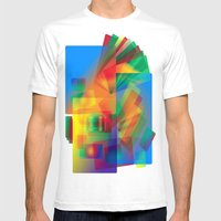 Alluvial Fan Mens Fitted Tee White SMALL