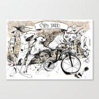 Chens Savants Canvas Print