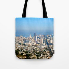 Twin Peaks, San Francisco Tote Bag