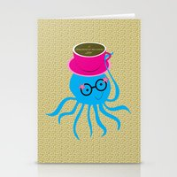 Hipster Octopus 2016 Stationery Cards