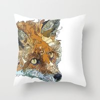 Her Complicated Nature II Throw Pillow