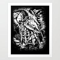 GOREHOUND Art Print