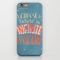 iPhone & iPod Case featuring Infinite Possibilities by Floating Lemons