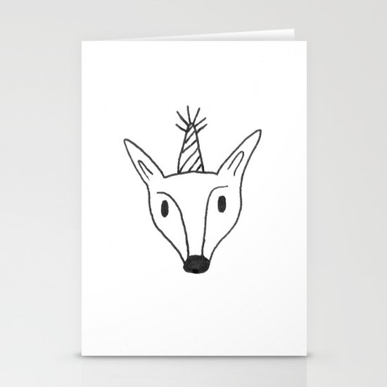Party Animal Stationery Card