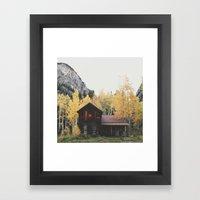Crystal Cabin Framed Art Print
