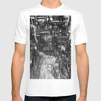 One Man's Possessions Mens Fitted Tee White SMALL