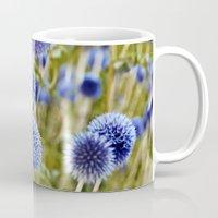 BLUE WILD THISTLE Mug