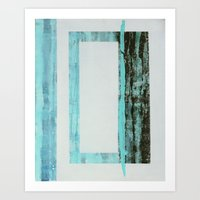 Waves and Grief Art Print