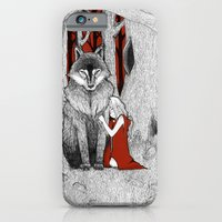 iPhone & iPod Case featuring The Wolf & I by Taylor Davis
