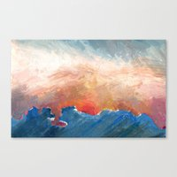 Sunset Impressionist  Canvas Print
