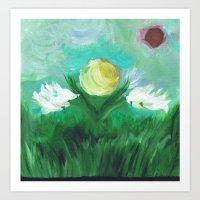 Abstract Scene Art Print