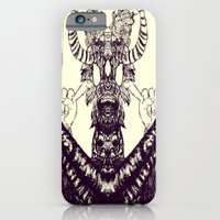 iPhone & iPod Case featuring Surf Totem by Shane R. Murphy