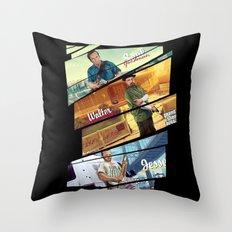 Breaking Bad mashup GTA V  Throw Pillow