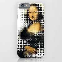 iPhone & iPod Case featuring Modern Mona by Miss Baker