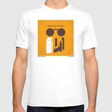 No239 My LEON minimal movie poster Mens Fitted Tee White SMALL