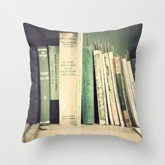 Vintage Classics Throw Pillow