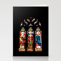Stained-glass Window Stationery Cards