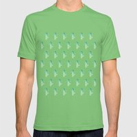 Summer in the Desert Mens Fitted Tee Grass SMALL