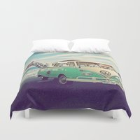 NEVER STOP EXPLORING THE… Duvet Cover