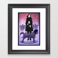 Sympathy For Lady Vengea… Framed Art Print
