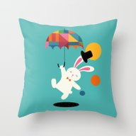 On The Way To Wonderland Throw Pillow