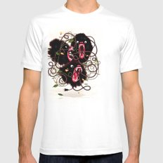 Tangle Mens Fitted Tee SMALL White