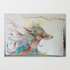 Gypsy Wolf Canvas Print