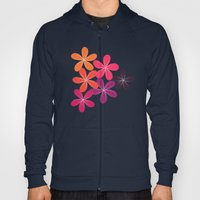 Hippie Orange And Pink F… Hoody
