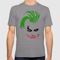 Joker Mens Fitted Tee Tri-Grey SMALL