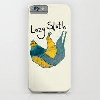 Lazy Sloth iPhone 6 Slim Case