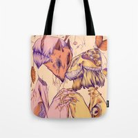 Love On Empty Stomachs Tote Bag