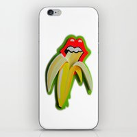 Banana Lips iPhone & iPod Skin