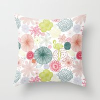 Sweet Paradise Throw Pillow