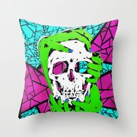 Death Grip #2 Throw Pillow