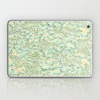 Green And Yellow Leaves Laptop & iPad Skin