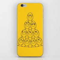 Bird Tower iPhone & iPod Skin