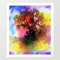 Tree Of Fantasy Art Print